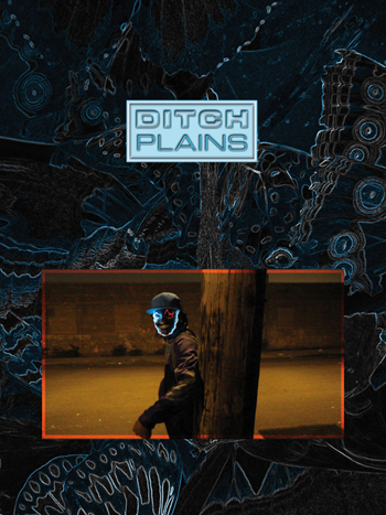 poster for Ditch Plains with person in front