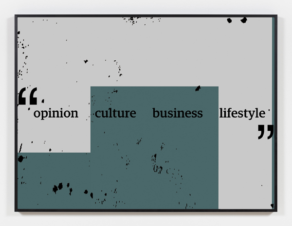 framed print of opinion culture business lifestyle