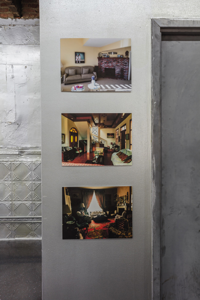 image of Georgie Nettell photos of living rooms on wall